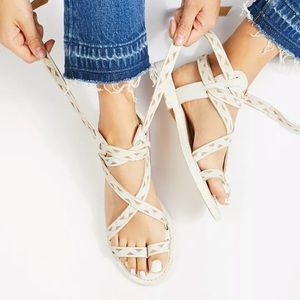 Free People x Faryl Robin Geo Sandals Size 7